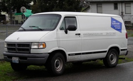 Tyee Surveyor's van